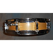 Used Keller  3X14 Maple Snare Drum Factory Direct Hardware Natural