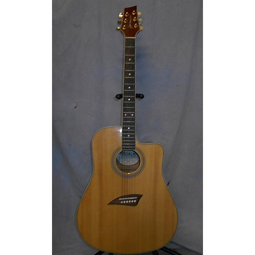 In Store Used Used Kena K1E Natural Acoustic Electric Guitar