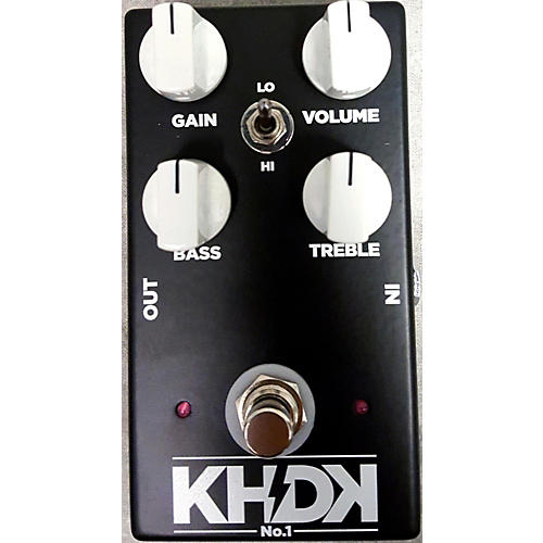 In Store Used Used Khdk No. 1 Overdrive Pedal Effect Pedal