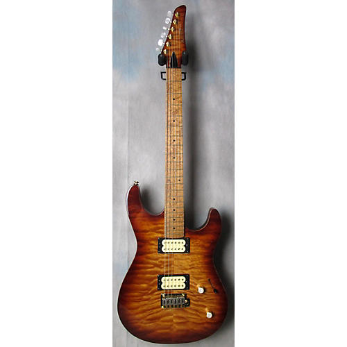 In Store Used Used Kiesel C66V California Burst Solid Body Electric Guitar California Burst