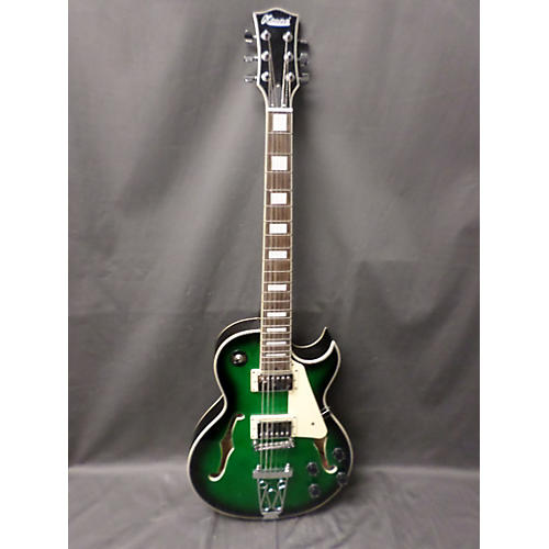 In Store Used Used Ktone Hollowbody Green Hollow Body Electric Guitar-thumbnail