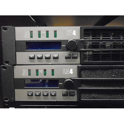 In Store Used Used L-ACOUSTIC LA4 AMPLIFIER Power Amp-thumbnail