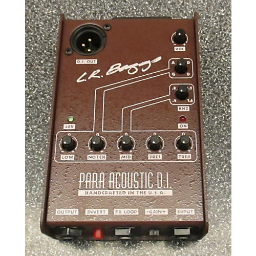 In Store Used Used L.R. BAGGS PARA ACOUSTIC DI Pedal