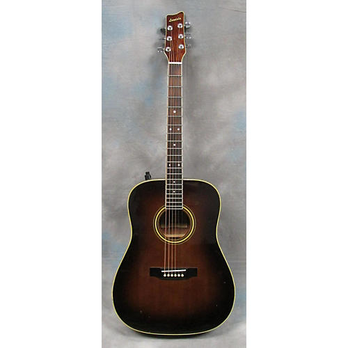 In Store Used Used LANDOLA 1980s 7-20 Brown Acoustic Electric Guitar-thumbnail