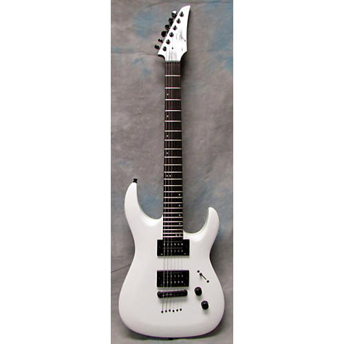 In Store Used Used LEGATOR NINJA 300 SE Alpine White Solid Body Electric Guitar-thumbnail