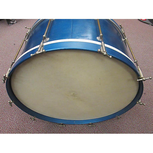 In Store Used Used LIBERTY 26X18 BASS DRUM Blue Drum
