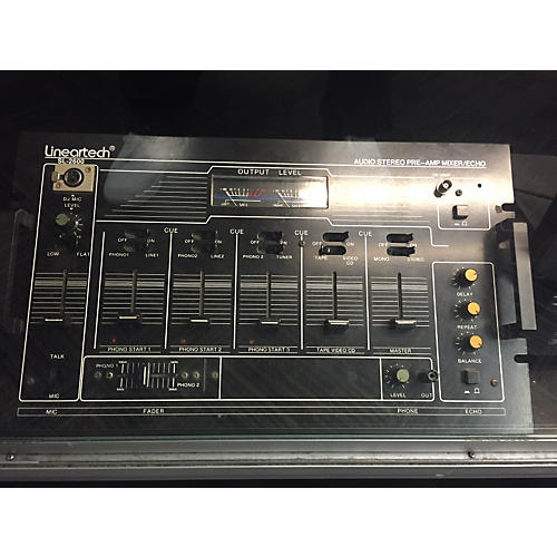 In Store Used Used LINEARTECH SL2600 DJ Mixer