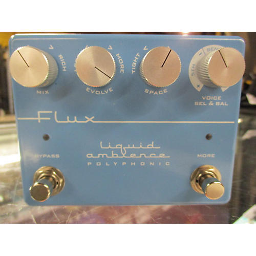 In Store Used Used LIQUID AMBIENCE 2015 FLUX Effect Pedal