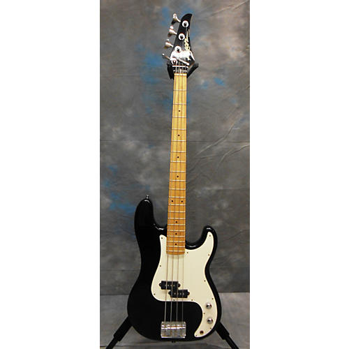 In Store Used Used LYON DOUBLE CUTAWAY Black Electric Bass Guitar-thumbnail