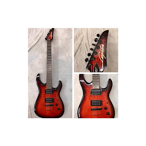 In Store Used Used Legator Ninja 300 Red Solid Body Electric Guitar