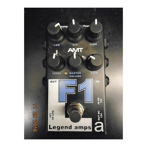 In Store Used Used Legends Amps F1 Pedal