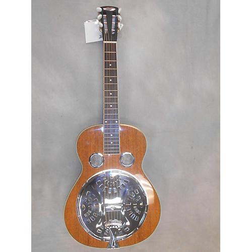 In Store Used Used Liberty Square Neck Resonator Brown Resonator Guitar