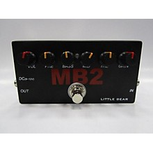 Used Little Bear MB2 Bass Effect Pedal