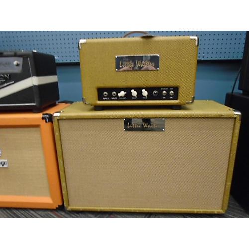 In Store Used Used Little Walter VG50 With 2x12 Tweed Tube Guitar Amp Head tweed