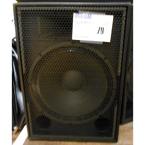 In Store Used Used Loudspeakers Plus 15in Loudspeaker Unpowered Speaker