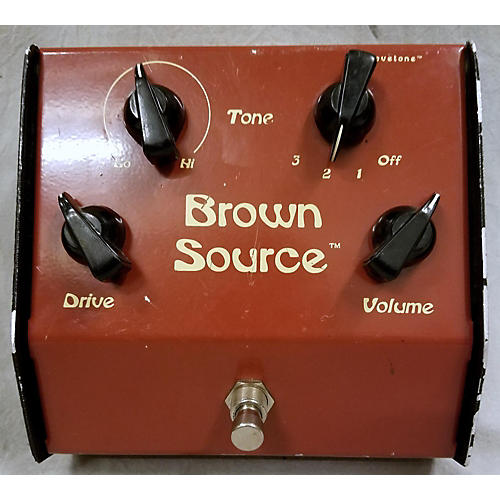 In Store Used Used Lovetone Brown Source Effect Pedal
