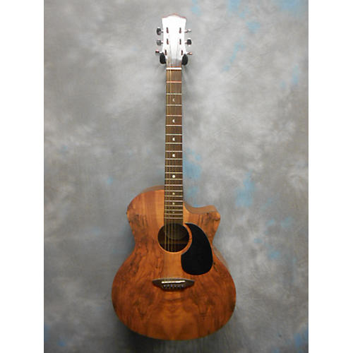 In Store Used Used Luna Gypsy Spalted Maple Spalted Maple Acoustic Electric Guitar