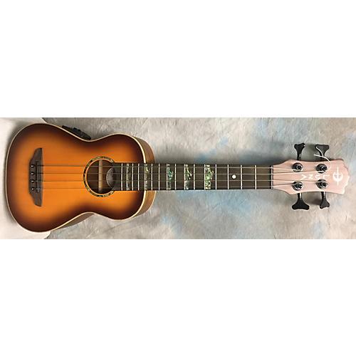 In Store Used Used Luna Uke Bass Ht Satin Sunburst Ukulele