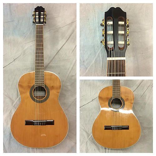 In Store Used Used Luthier Lu06 Natural Classical Acoustic Guitar