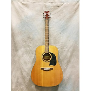 Pre-owned Pre-owned Lyon By Washburn Dreadnought Natural Acoustic Guitar by