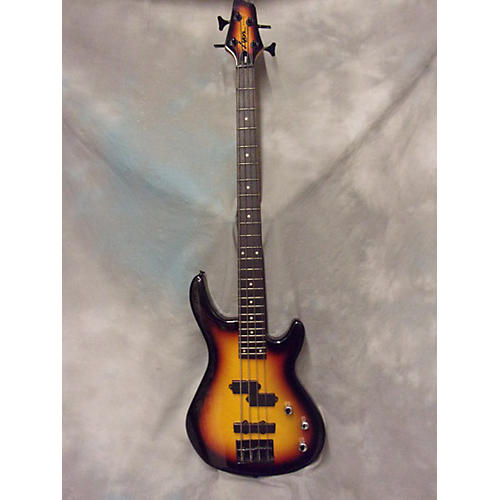 In Store Used Used Lyon LB40 Sunburst Electric Bass Guitar-thumbnail
