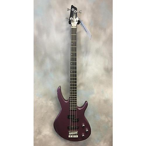 In Store Used Used Lyon LB60 Metallic Purple Electric Bass Guitar-thumbnail