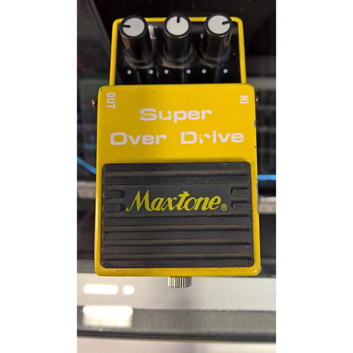 In Store Used Used MAXTONE SUPER OVERDRIVE Effect Pedal