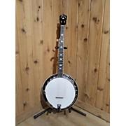 Used MAYA 5 STRING BANJO Natural Banjo