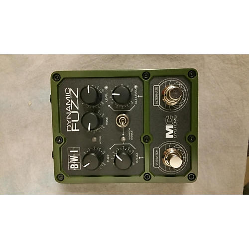 In Store Used Used MC SYSTEMS BWI DYNAMIC FUZZ Effect Pedal
