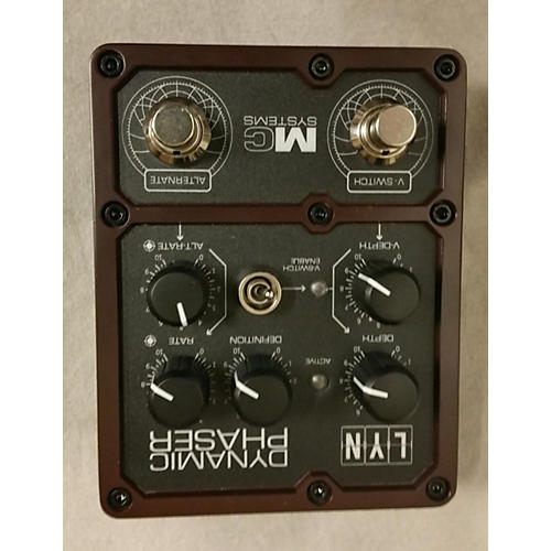 In Store Used Used MC SYSTEMS LYN DYNAMIC PHASER Effect Pedal-thumbnail