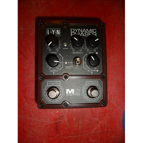 In Store Used Used MC Systems Lyn Dynamic Phaser Effect Pedal