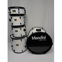 Used MENDINI 5 piece ENTRY LEVEL White Drum Kit