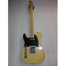 Used MJT VTT Series Telecaster Lefty Butterscotch Blonde Electric Guitar