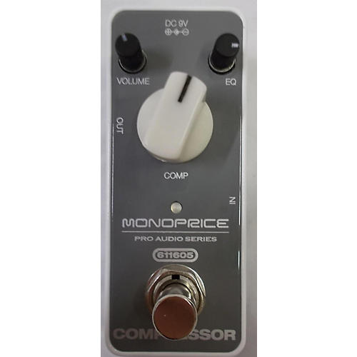 used monoprice 611605 mini compressor effect pedal guitar center. Black Bedroom Furniture Sets. Home Design Ideas
