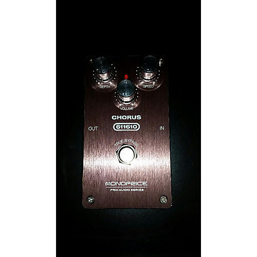 In Store Used Used MONOPRICE PRO AUIDIO SERIES Effect Pedal-thumbnail