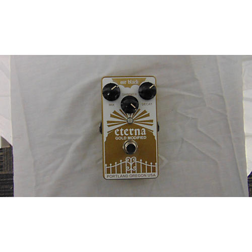In Store Used Used MR BLACK ETERNA GOLD MODIFIED Effect Pedal-thumbnail