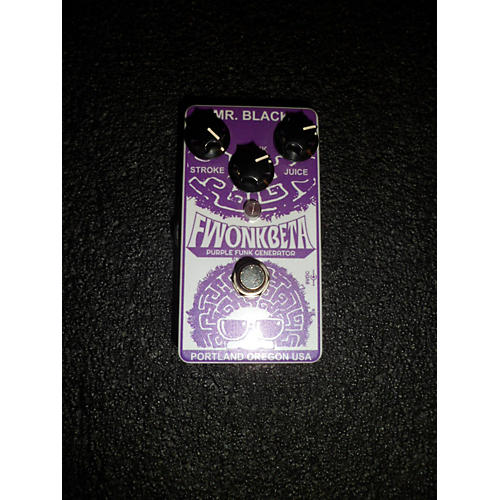 In Store Used Used MR. BLACK Fwonkbeta Effect Pedal-thumbnail