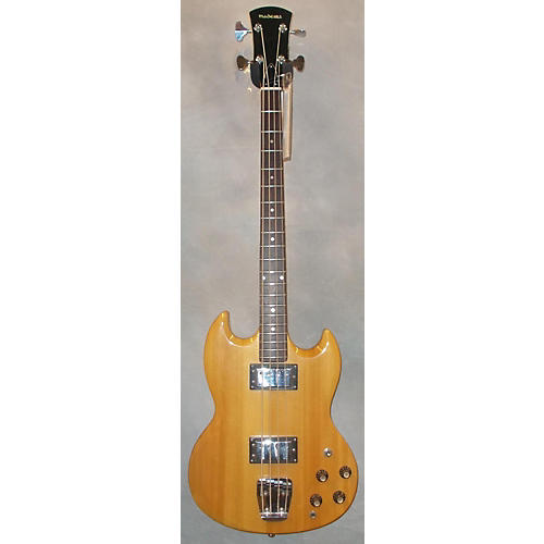 In Store Used Used Madeira 1970s MB100 Natural Electric Bass Guitar-thumbnail