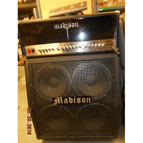 In Store Used Used Madison Divinity Head & Cab Guitar Stack-thumbnail