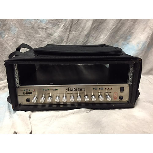In Store Used Used Madison E-600 Guitar Amp Head