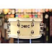 Used Magstar 6X12 Custom Snare White Drum