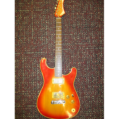 In Store Used Used Mako Traditionals XK-7 2 Color Sunburst Solid Body Electric Guitar