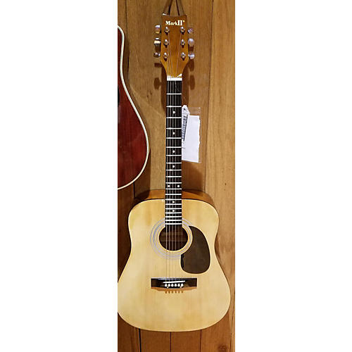 In Store Used Used Mark 2 M2G ACOUSTIC GUITAR Natural Acoustic Guitar