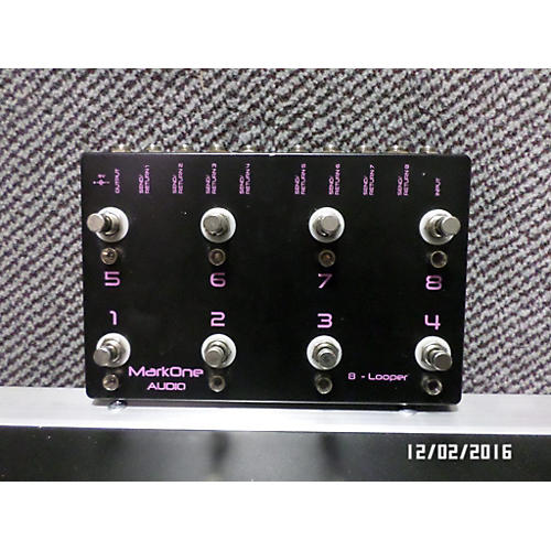 In Store Used Used MarkOne Audio 8 Looper Pedal-thumbnail