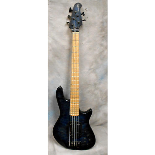 In Store Used Used Marleaux Votan Deluxe Blueburst Electric Bass Guitar-thumbnail