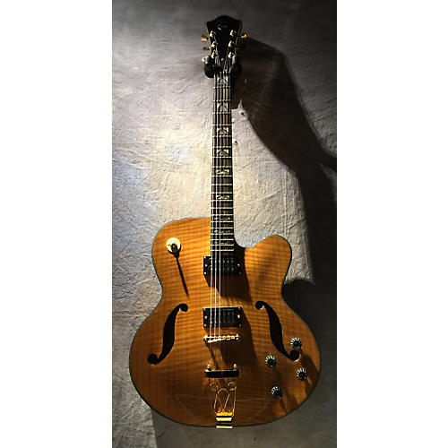In Store Used Used Matt Raines 2000s Super 6 Antique Amber Hollow Body Electric Guitar-thumbnail