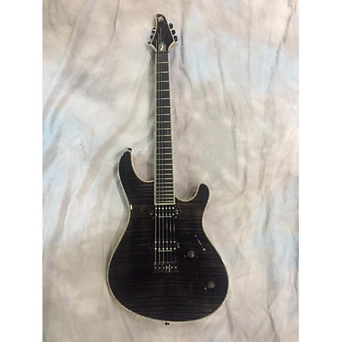 In Store Used Used Mayones Regius 6 Trans Black Solid Body Electric Guitar