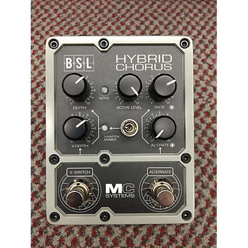 In Store Used Used Mc Systems Bsl Hybrid Chorus Effect Pedal-thumbnail