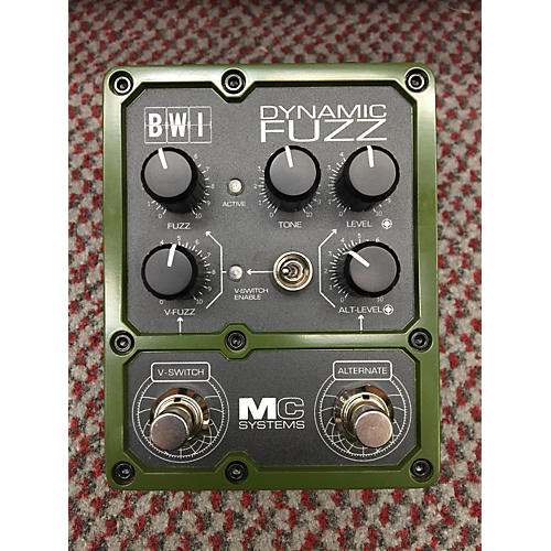 In Store Used Used Mc Systems Bwi Dynamic Fuzz Effect Pedal-thumbnail