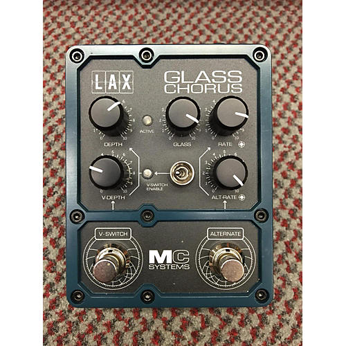 In Store Used Used Mc Systems Lax Glass Chorus Effect Pedal
